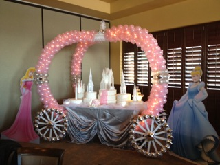Balloon Princess Carriage