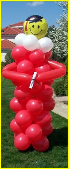 Balloon Graduation Decoration