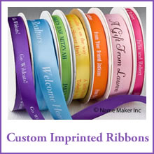 Custom Imprinted Ribbons