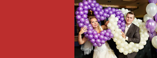 Wedding BalloonsFor that Special Day!Themes are our SpecialtyMakin Memories has provided wedding decorations for over 20 years! We offer a wide range of services from balloon decorations. Our expert staff can create your special theme what ever it may be.