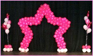 Balloon decor st louis for Balloon decoration chicago